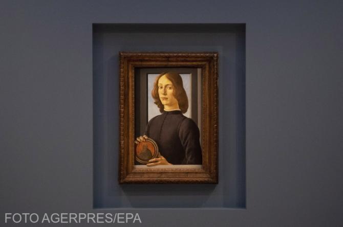 Această operă de artă a lui Botticelli a fost vândută la licitație cu o sumă record.