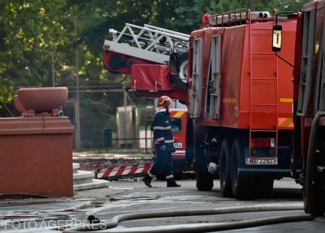 Pompier / foto ilustrativ