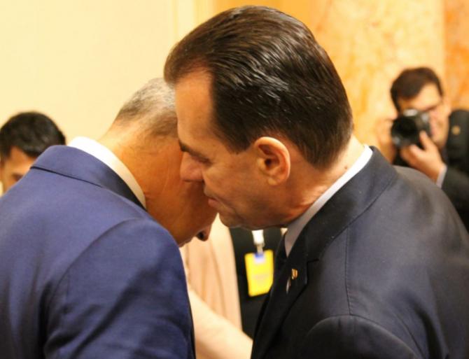 Rares Bogdan și Ludovic Orban / Foto: Crișan Andreescu