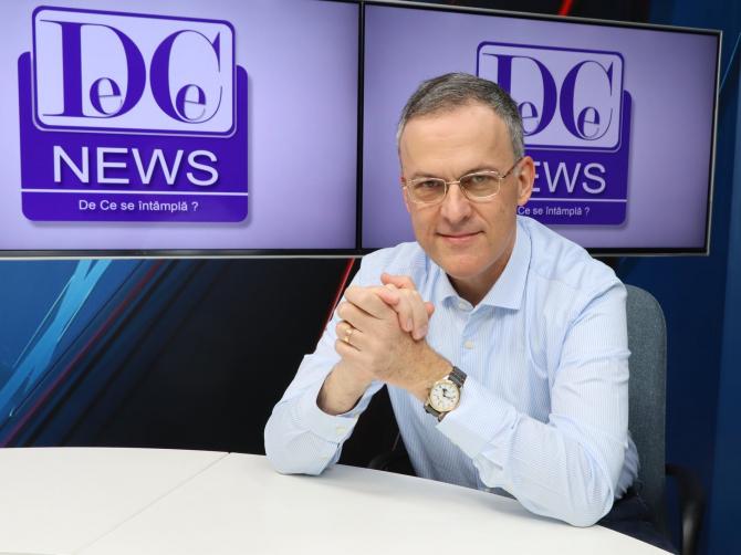"""""""Ce se întâmplă?"""", la DCNews, cu Răzvan Dumitrescu. Invitatul zilei: ALEXANDRU RAFILA"""