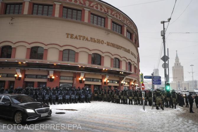 """Rusia acuzat Statele Unite de """"ingerinţă flagrantă"""". Proteste de amploare"""