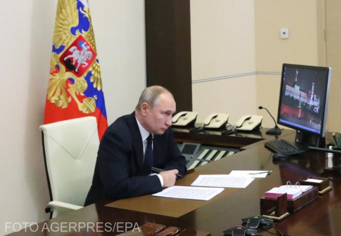 """Rusia a anunțat retragerea din Tratatul """"Ceruri Deschise"""""""