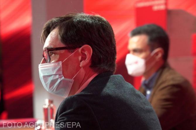 Medicii din Spania vin cu un scenariu de prăbușire imediată a sistemului din cauza Covid-19, iar Ministrul Sănătății demisionează
