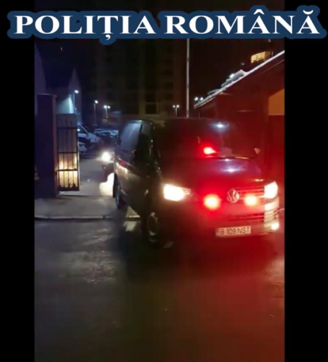 Percheziții în Capitală și în Ilfov. Foto: Poliția Română