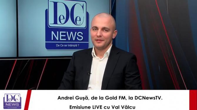 Andrei Gușă, despre preluarea Gold FM.