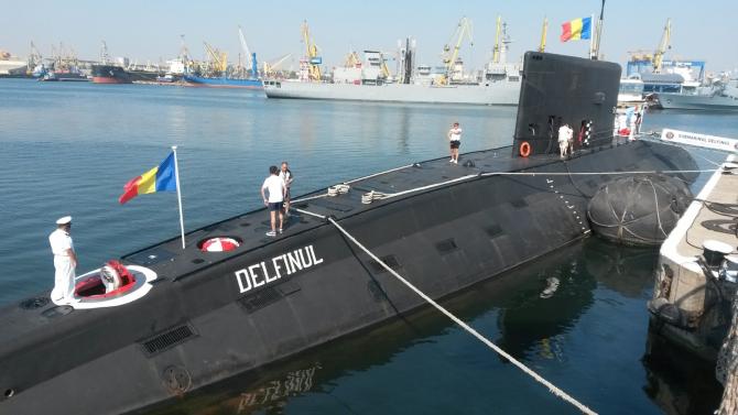 Submarinul Delfinul, sursă foto: Blogul AAG_th, cont Twitter, imagine preluată Navy.ro