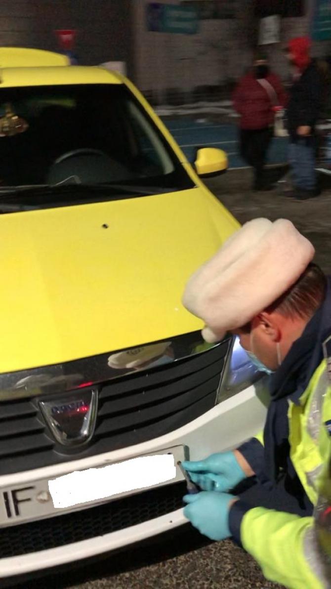 Acțiune a politistilor BPR pe linia transportului de persoane Sursa:BPR