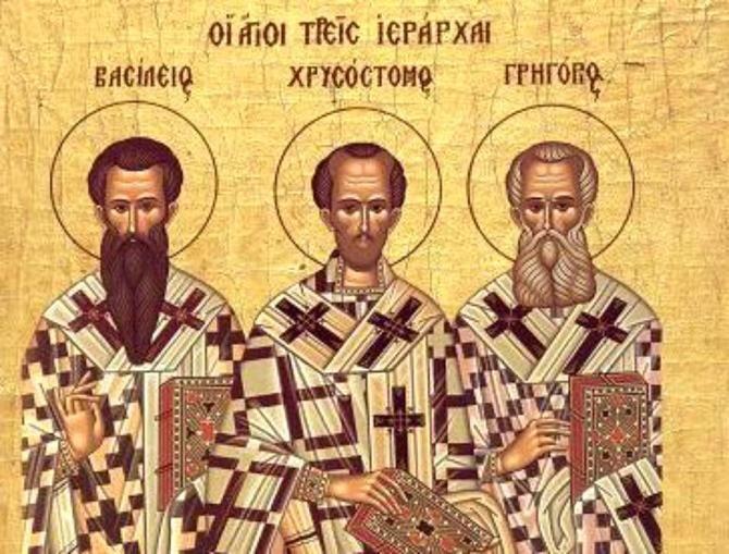 Sfinții Trei Ierarhi,  o sărbătoare mare, ce trebuie respectată, căci joacă un rol deosebit în tradiţia religioasă
