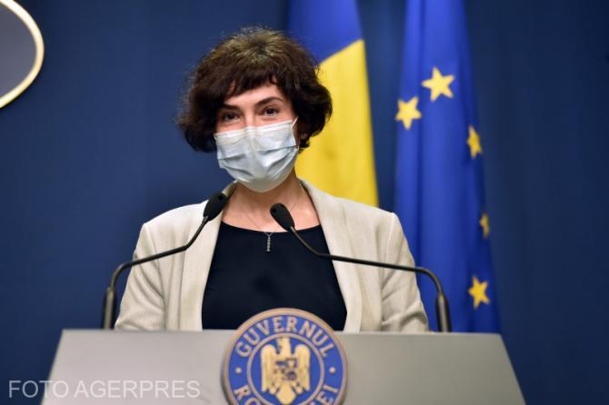 Secretarul de stat în Ministerul Sănătății, Andreea Moldovan