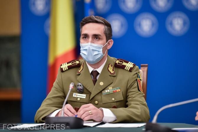 Coordonatorul campaniei de vaccinare anti-Covid din România, Valeriu Gheorghiță