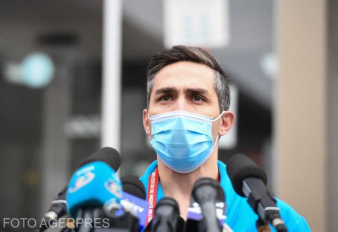 Medicul Alexandru Rafila a vorbit despre coordonatorul campaniei de vaccinare, medicul Valeriu Gheorghiţă / Foto Agerpres