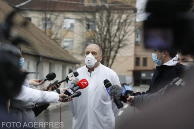 Răspunsuri de la medicul Virgil Musta despre vaccinul COVID-19 / Foto Agerpres
