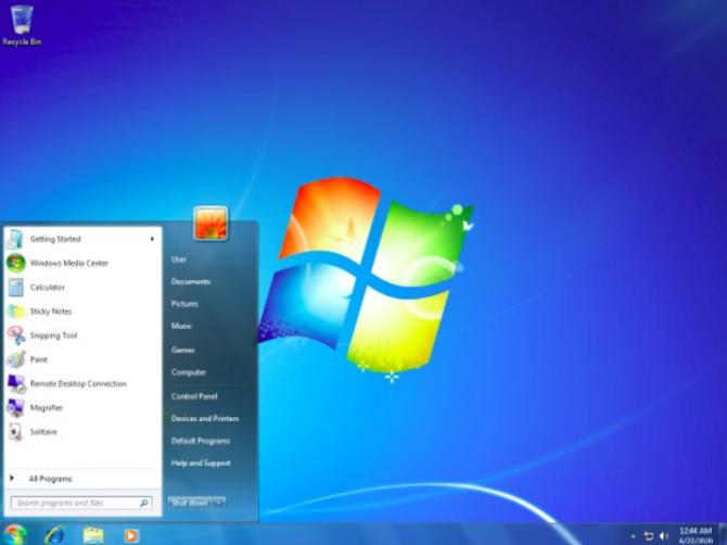 Foto: Microsoft/Windows 7