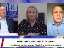 Chirieac, Ciuvică și Diana Tache, la MIERCUREA NEAGRĂ