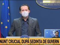 Legea Bugetului 2021. Cîțu, anunț după ședința de Guvern / Foto captură Antena 3