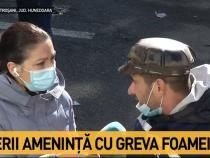 """Minerii amenință cu GREVA FOAMEI: """"Întârzie deciziile de la Guvern"""" / Foto captură Antena 3"""