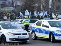 Incidente la protestul de la Cotroceni. Sindicalist: Jandarmii ne-au îmbrâncit, îi vom da în judecată