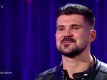 """Lucian Colareza, la """"Românii au talent"""". Foto: Captură ProTV"""
