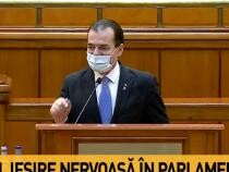 Eliminarea pensiilor speciale. Orban: S-ar putea să vă uimească. Îmi scot pălăria în fața tuturor parlamentarilor / Captură Antena 3