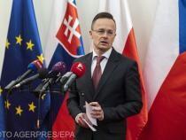Péter Szijjártó, ministrul de Externe de la Budapesta, vine la București