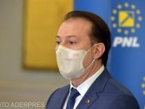 Premierul Florin Cîţu va susţine o conferinţă de presă la ora 13,00