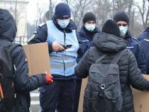 Protest al studenților, oprit de autorități în Sectorul 1. Poliția Locală a răspuns abia după trecerea marșului
