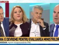Diana Șoșoacă și Rareș Bogdan / Captură Antena 3