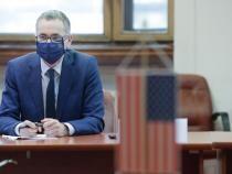 Lupta împotriva traficului de persoane și combaterea infracționalității, pe agenda lui Stelian Ion la vizita unei delegații din SUA  /  Sursă foto: Ministerul Justiției