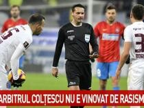 UEFA a luat decizia finală în cazul arbitrului Sebastian Colţescu / Foto captură Antena 3