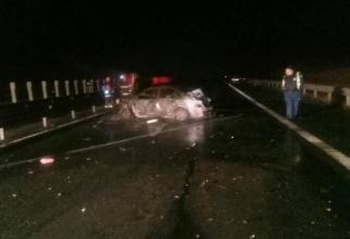Accident foarte GRAV în Arad. Șapte victime. DOUĂ persoane AU MURIT