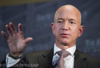 Jeff Bezos, fondatorul Blue Origin