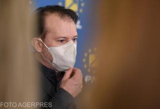 Cîţu: Vineri vom adopta în Guvern o hotărâre privind acordarea a 21.600 de doze de vaccin Republicii Moldova
