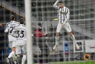 Dubla lui Ronaldo, decisivă în Juventus - Crotone. Starul portughez a fost one man show - video