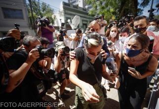 Foto: Jana Maradona, la audieri