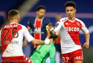 AS Monaco s-a impus cu 2-0, în deplasare