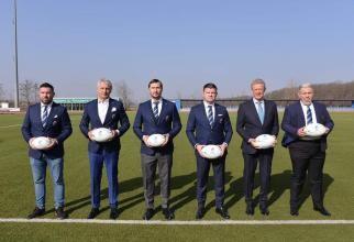 Noua echipă a Federației Române de Rugby  Foto: Facebook Eugen Teodorovici
