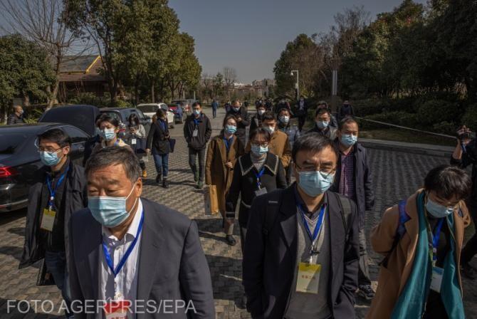 Echipa internațională de experți din Organizația Mondială a Sănătății (OMS), după perioada de carantonă de 14 zile