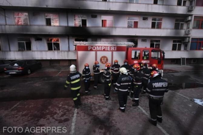 Al 23-lea deces în urma incendiului de la 'Matei Balș'