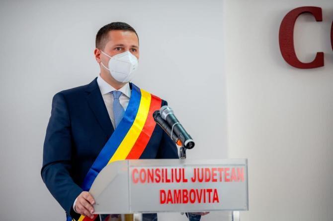 Corneliu Ștefan: Județul Dâmbovița a primit cu 23.000.000 de lei mai puțin decât anul trecut