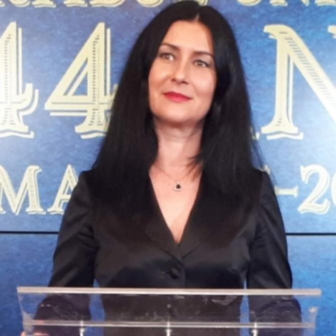 Crina Dobre, cea care a fost șef PNL Diaspora, l-a atacat pe Vlad Voiculescu după ce i-a făcut Dianei Șoșoacă după incidentul de la Marius Nasta.