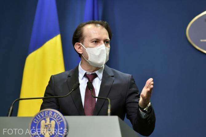 Premierul Florin Cîțu, declarații de la Palatul Victoria