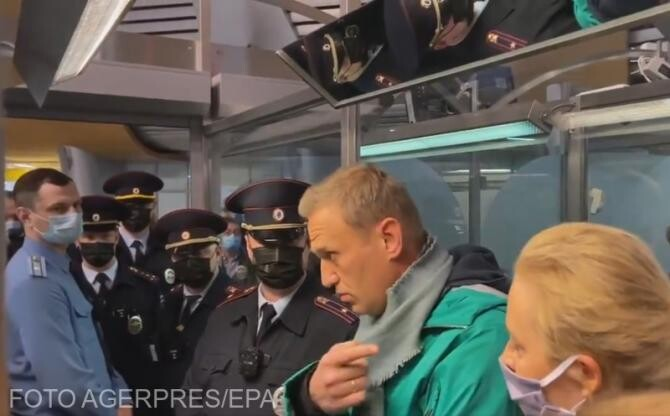 Germania Angelei Merkel cere eliberarea imediată a opozantului Navalnîi