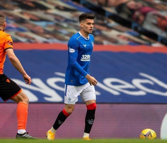 Ianis Hagi a marcat golul victoriei pentru Rangers în meciul cu St Johnstone - VIDEO