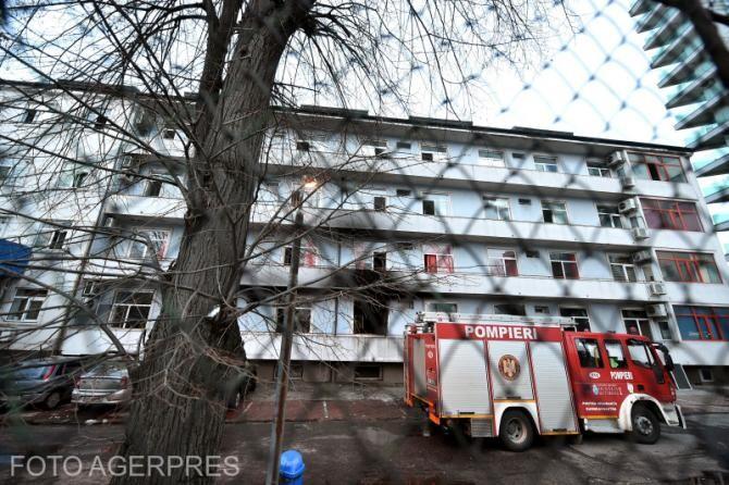 Incendiu Balș: Încă un deces în rândul pacienților care s-au aflat în Pavilionul V
