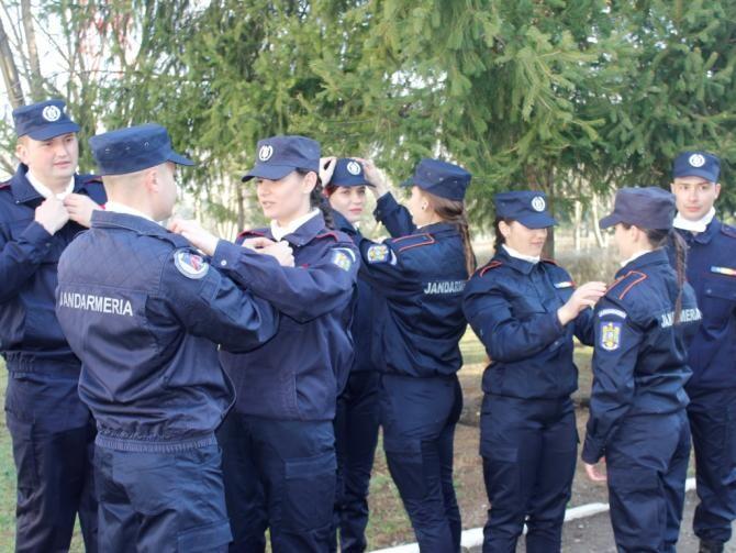 Foto: Școala de Subofițeri Jandarmi Grigore Alexandru Ghica