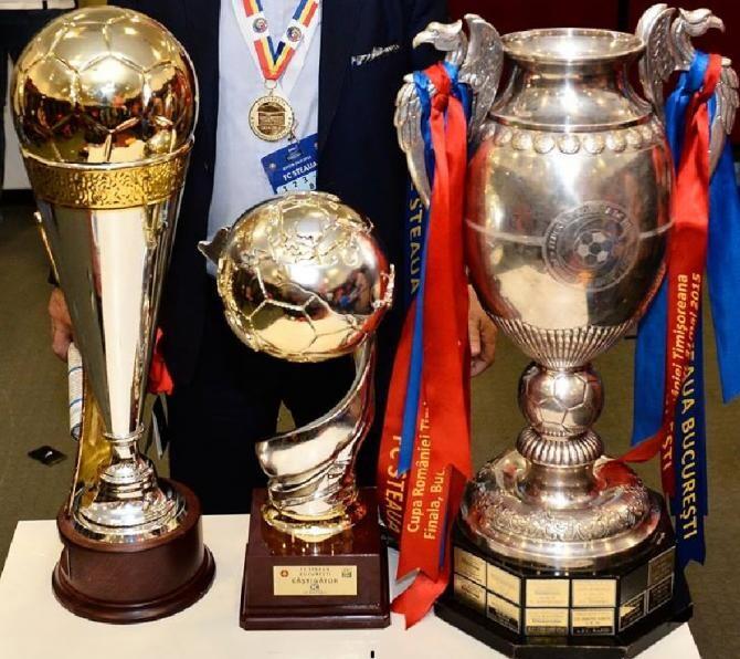 LPF spune că marca aparţine CSA Steaua, locul în Liga I este al FCSB, palmaresul nu e tranşat