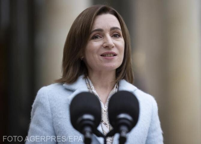 Maia Sandu, întâlnire cu președintele Consiliului European, Charles Michel