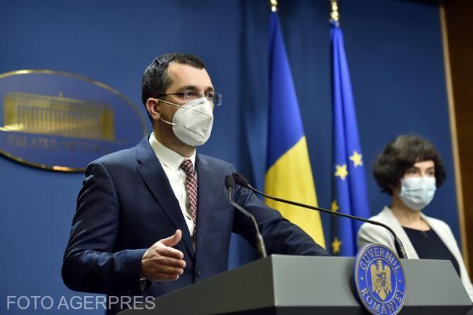 """Vlad Voiculescu a anunțat cine este noul manager interimar la Institutul """"Prof. Dr Dorin Hociotă"""" din București."""