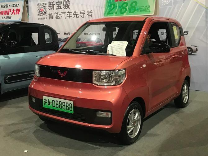 Hong Guang Mini EV. Autor: Jengtingchen via Wikipedia