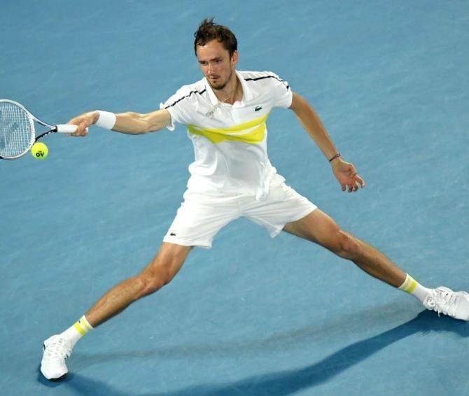 Daniil Medvedev  Foto: Facebook Australian Open